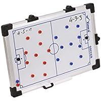 Vinex HAEST Magnetische Taktiktafel für Fußball - Beschreibbar und mit Magneten - 45 x 30 cm