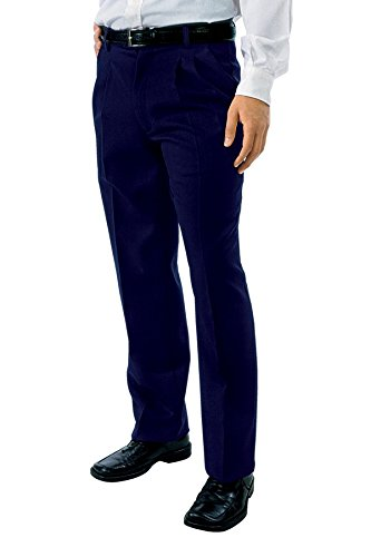Isacco Pantalone Uomo 2 Pinces - Isacco Blu - 23886