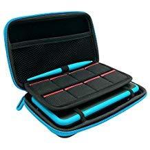 FYOUNG 2DS XL Case, 3-in-1 Schutzhülle für Nintendo 2DS XL mit Stylus + 2 Displayschutzfolien und 8 Spielkarten