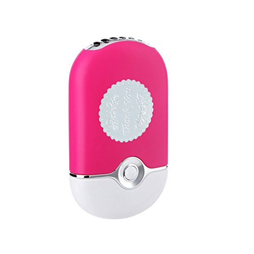 Preisvergleich Produktbild BXT Aufladbar USB Handheld Fan Mini Klimagerät Ventilator