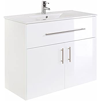 badm bel badezimmerm bel waschbecken unterschrank freistehend 1050mm wei k che. Black Bedroom Furniture Sets. Home Design Ideas