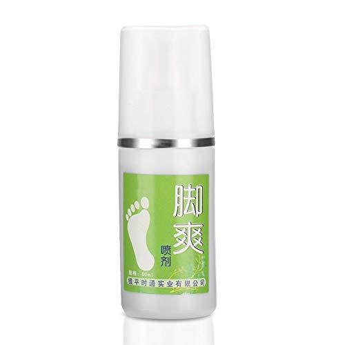 Foot Deodorant, Foot Fresh Spray Geruch r mit ätherischen Ölen und Teebaum Athleten Fuß- und Schuhspray Ideal für stinkende Schuhe Stinkende Füße und Sport -