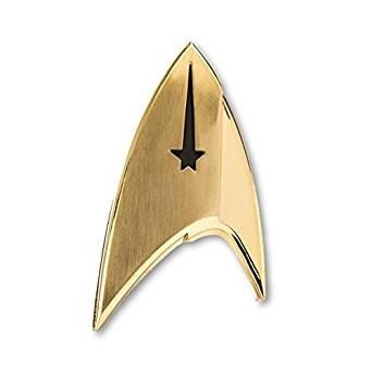 Unbekannt Quantum Mechanix Abysse Corp _ bijqmx001Star Trek-Insignia Abzeichen: Befehl, Mehrfarbig