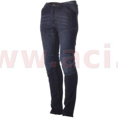 Roleff Racewear Motorradhose Kevlar Jeans für Damen, Blau, Größe 33