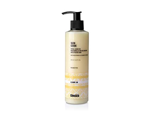 Glossco, Crema acondicionadora que protege el cabello de la exposición solar, la sal y el...