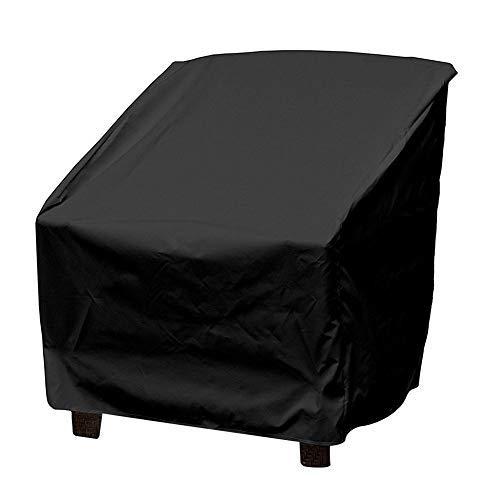 Terrazza Copertura per Sedie Anti Polvere Anti UV Impermeabile Rip Resistente Copertura per Mobili Sedia Divano Tavolo Protettore per Poltrona