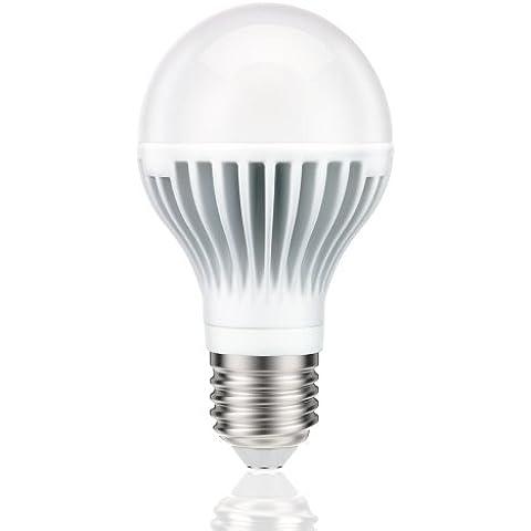 Lampadina a LED da Parlat con attacco E27 forma A60 810 lumen 11W =61W bianco caldo 140° A+ confezione da 1
