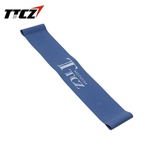 Monllack Elastische Spannung Widerstand-Band-Übungs-Training Gummischlaufe Band Bodybuilding Muskeltraining Expander Yoga Fitness Equipment Blue Cross Band