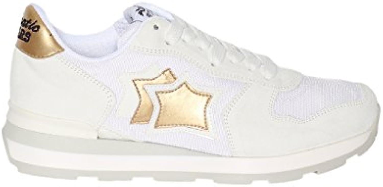 scarpe da ginnastica Atlantic Stars Stars Stars in Tessuto Tecnico e Camoscio con para in Gomma e Logo Laterale | Delicato  763d16