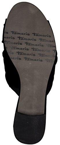 Tamaris 1-1-27219-38/001, Zoccoli donna Nero