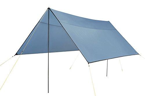 Grand Canyon Shelter / Tarp / Sonnensegel / Zeltplane, inkl. Aufstell-Stangen, wasserdicht und UV50...