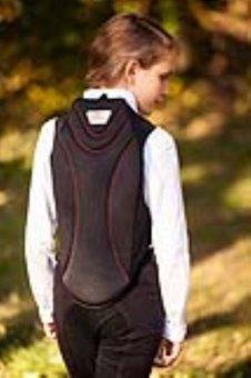 Kerbl Kinder Protectosoft Rückenschutz-Weste