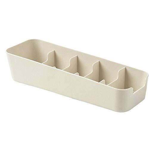 Sulifor 5 Mehrzweck-Schublade Finishing Aufbewahrungsbox, Gitter Aufbewahrungsbox Aufbewahrungsbox Krawatte BH Socken Schublade Kosmetik Trennung Küche