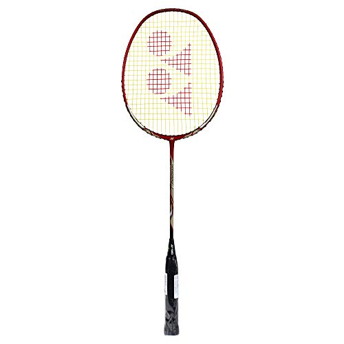 Yonex Nanoray 7 Graphite Badminton Racquet, G4 3U  Deep Red