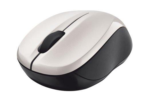 Trust 18476 Vivy kabellose optische Mini Maus (800dpi, USB) weiß
