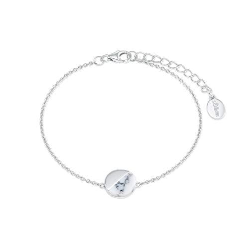 s.Oliver Armkette für Damen Marmoroptik aus 925 Sterling Silber