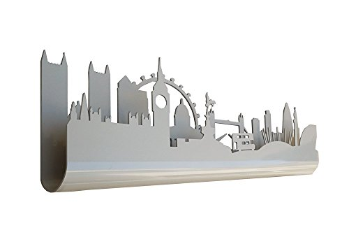 Skyline 3.07 Perchero Decorativo de Pared, diseño London