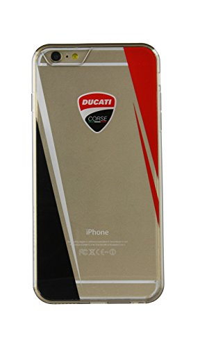 Preisvergleich Produktbild Ducati Schutzhülle hinten Rigida Corse D3Serie iPhone 6/6S Plus transparent