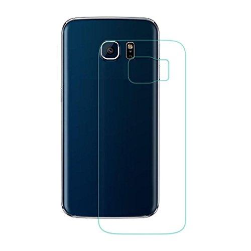 Preisvergleich Produktbild S6 edge+ Back-Schirm-Glasschutz, Fulltime® 0.3mm 9H Rückenprotektor erstklassiger ausgeglichenes Glas-Schutzfolie für Samsung Galaxy S6 Edge+ Plus, Transparent