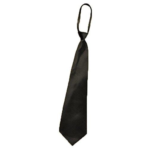 URSFUR hochwertigekleine Krawatte schmale Version Casual karierte Schlips Japanische Kostüm Cosplay Zubehör - schwarz (Japanische Kostüme Für Männer)