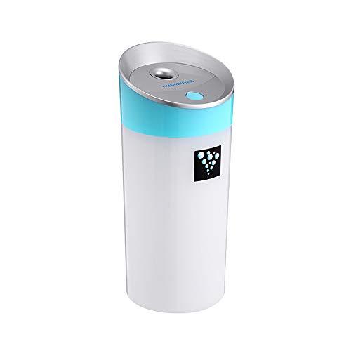 SUNLMG humidificador/USB Creativo atomización/Mini purificador/Multiusos/Inicio/atomizador/humidificador para el hogar del bebé habitación Dormitorio Oficina,Blue