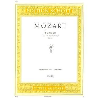 SONATE 12 F-DUR KV 332 (300K) - arrangiert für Klavier [Noten/Sheetmusic] Komponist : MOZART WOLFGANG AMADEUS
