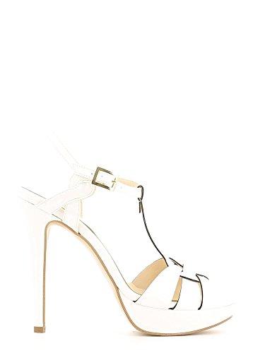 Grace shoes 7830 Sandalo tacco Donna Bianco 36