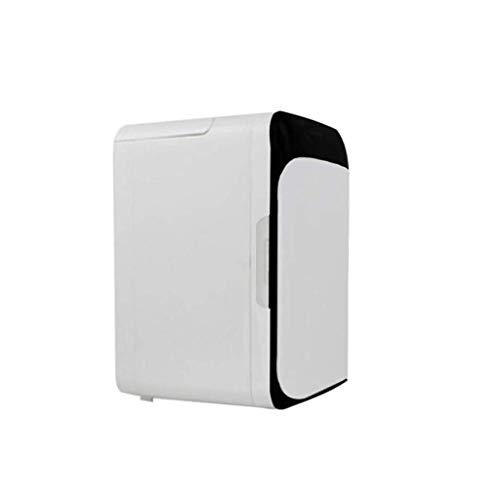 YSBX Auto Kühlschrank Startseite Mini Kühlschrank Büro Schlafsaal Kühler Heizung Kühlschrank Eisschrank Portable Electric DC12V AC220v Weiß 10L Schwarz -