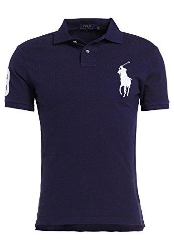 Polo Ralph Lauren Short Sleeve-Knit T-Shirt Polo Uomo Custom Fit Gr. L, B.