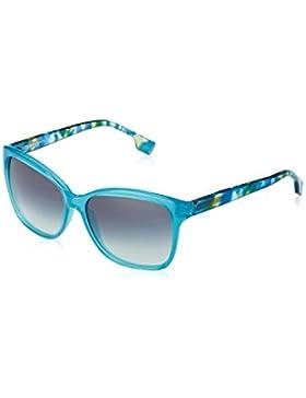 Boss Orange Für Frau 0060 Petroleum / Green / Light Blue / Dark Blue Gradient Kunststoffgestell Sonnenbrillen