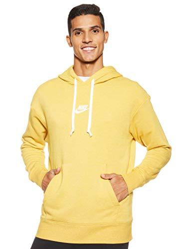 Nike Herren M Nsw Heritage Po Sweatshirt , gold dart/htr/Sail , M -