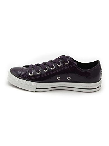 All Star Ox Leather Aubergine