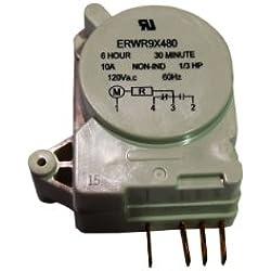 GENERAL ELECTRIC - MINUTERIE DE DEGIVRAGE FRIGO AMERICAIN GENERAL ELECTRIC 120V - WR9X480