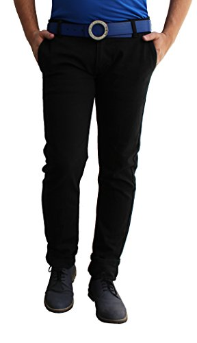 Alan-Woods-Mens-Stretchable-Slim-Fit-Casual-Wear-Black-Jeans