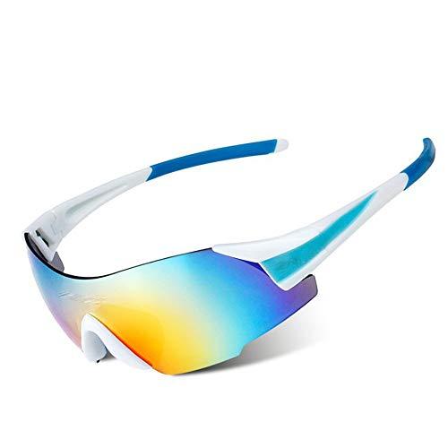 Fahrradbrillen, Sportbrillen, Skifahren und Bergsteigen Sonnenbrillen ! (Color : Red)