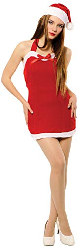 Claus Christmas Kostüm Sexy Mrs - Ladies Sultry Miss Santa Mrs Claus Sexy Christmas Xmas Festive Fun Fancy Dress Costume Outfit
