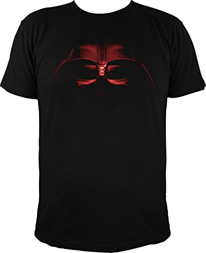 T-Shirt Star Wars Darth Vader Helm, schwarz (XL) (Darth Vader-helm-preis)