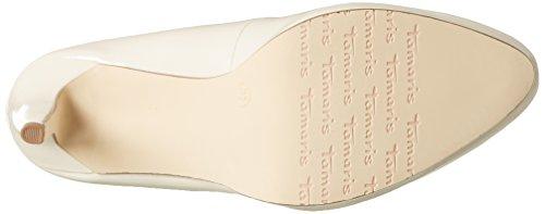 Tamaris22448 - Scarpe con tacco chiuse donna Beige (CREAM PATENT 452)