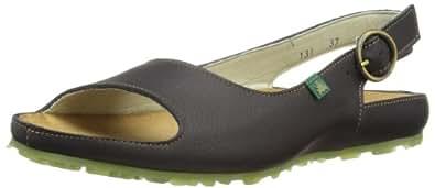 El Naturalista Women's N131 Fashion Sandals  Black Size: 8