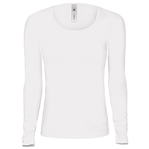 B&C Collection Pink classic /women White