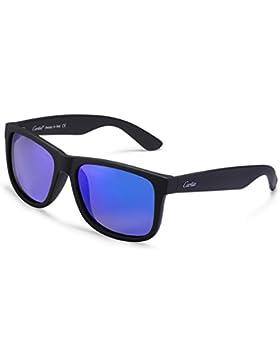 Carfia Outdoor Sonnenbrille UV400 Polarisierte Sonnenbrille für Damen und Herren Fahren Golf Wandern Reise Party
