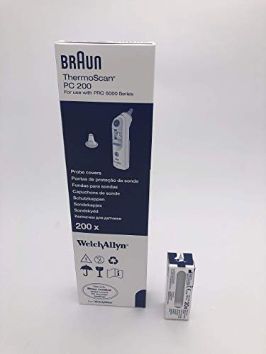 BRAUN THERMOSCAN PROBE Schutzhülle x 200 (PC200)