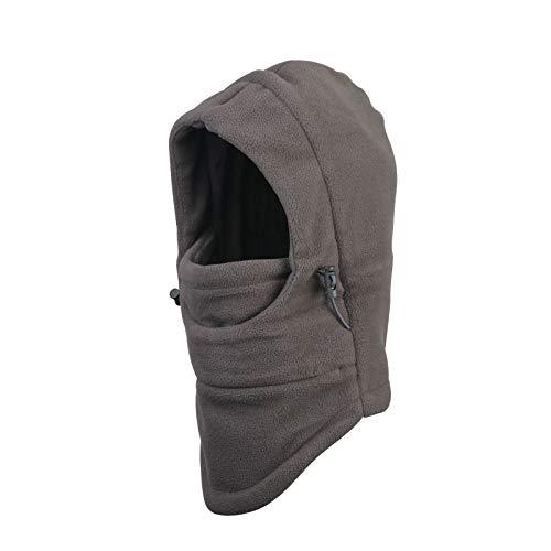 ZoomSky Sombrero de Invierno Gorro para niños y niñas Proteger Cuello de Gorro Ajustable para Salir o Viaje, al Aire Libre en Invierno y otoño (Gris)