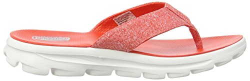 Skechers - Gowalk Move Solstice, Sandali Donna Rosso (Rosso (Rdw))