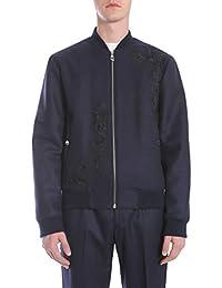 Versace Collection Homme V500509VT01162V1392 Bleu Polyamide Blouson 32bb3a9787e