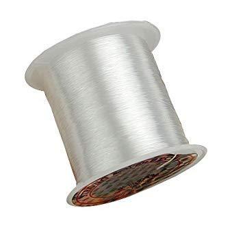 TOOGOO (R) 70m / rollo 0.25mm cordon rosca para abalorios Pesca