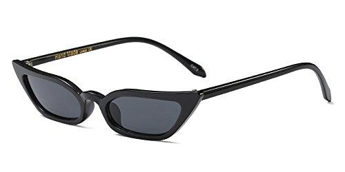 BOZEVON Neue Damen Modern Retro UV 400 Cat Eye Sonnenbrille