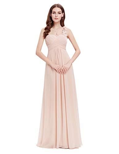 Ever-Pretty Vestito da donna vestito da sera vestito da sera lungo da abito da sera 36 Arrossire