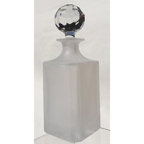 24% Cristallo Tagliato A Mano Sabbia Satinato 3/4Tre Quarto L Decanter