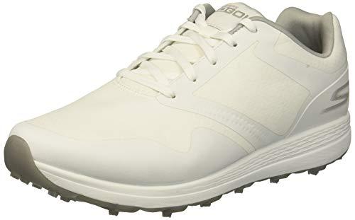 Skechers Golf 2019 Go Golf Max - Scarpe da Donna Senza Punta, Bianco (White/Gray), 38.5 EU